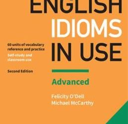 ENGLISH IDIOMS IN USE UNITS 25-36- A08A- TERM 3- 2021
