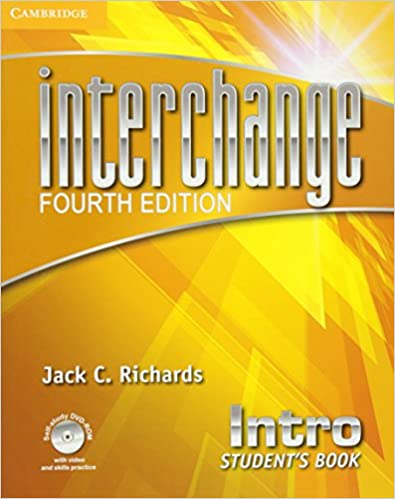 INTERCHANGE INTRO UNITS 1-4- B01-TERM 7-2021